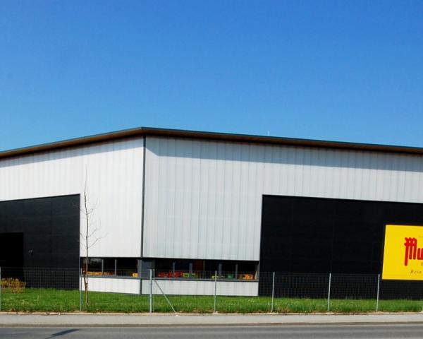Logistikzentrum Obermurtaler Brauereigenossenschaft In Graz Elfahu